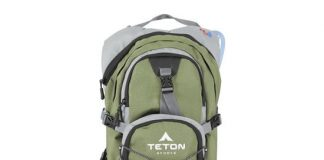 Teton Sports Oasis 1100 Hydration Backpack w Bladder
