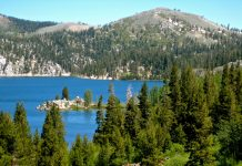 Marlette Lake Trail Tahoe