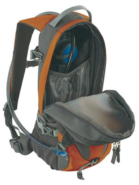 Outdoor Products Mist Hydration Pack Open View